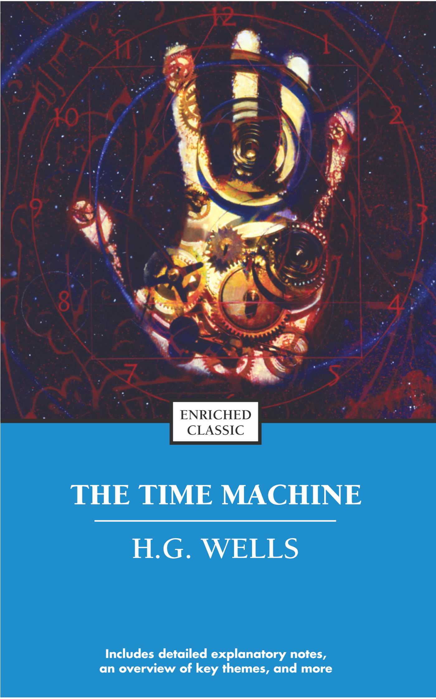 an analysis of h g wellss novel the time machine Summary chapter 1 having his guests gathered at his house for their weekly thursday dinner, the time traveler begins to expound on his theory with regard time which will redefine the notion of time and space as they know it.