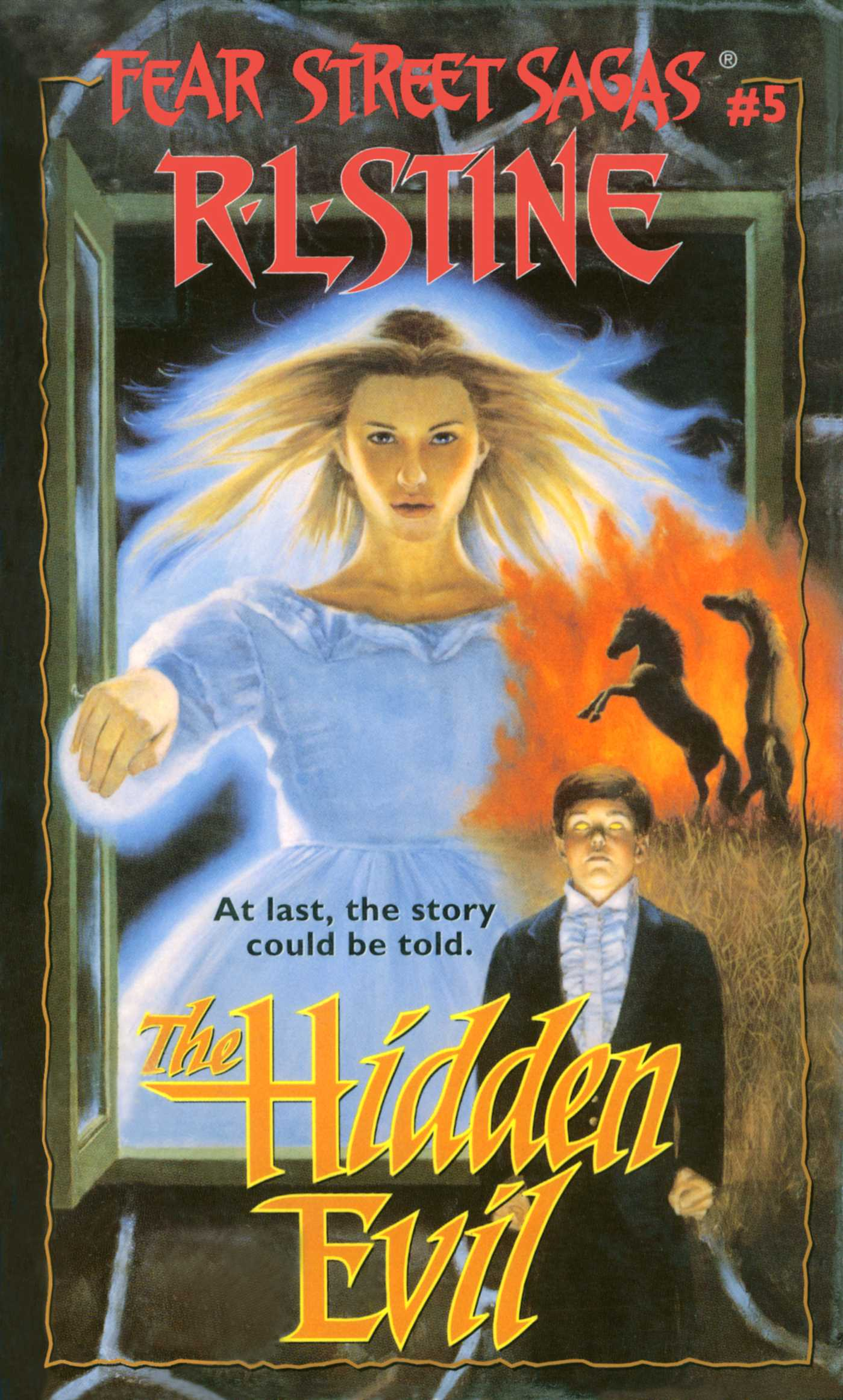The hidden evil 9781439121139 hr