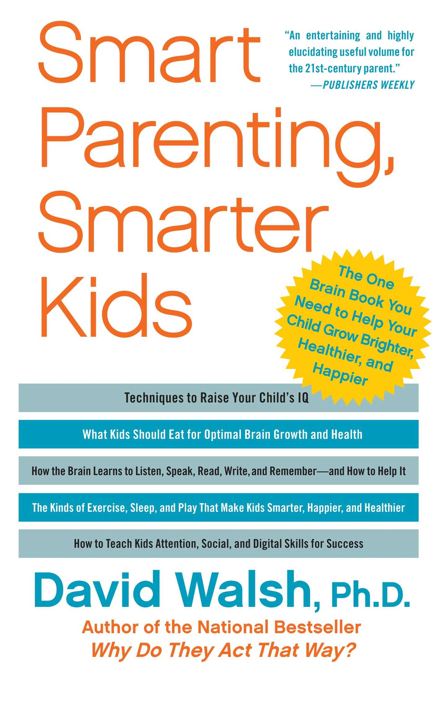 Smart parenting smarter kids 9781439121191 hr