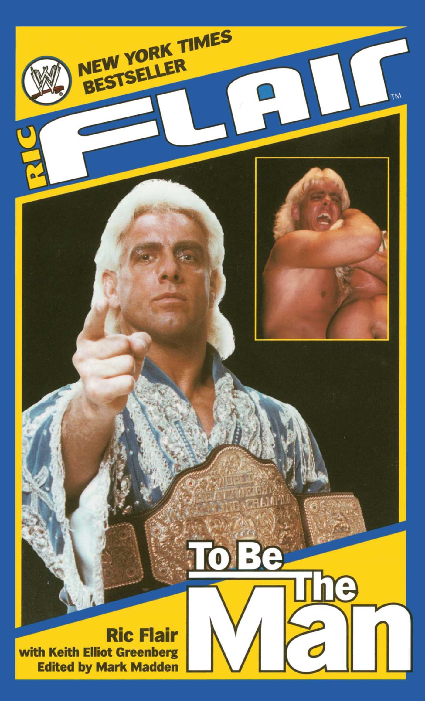 Ric flair to be the man 9781439121740 hr