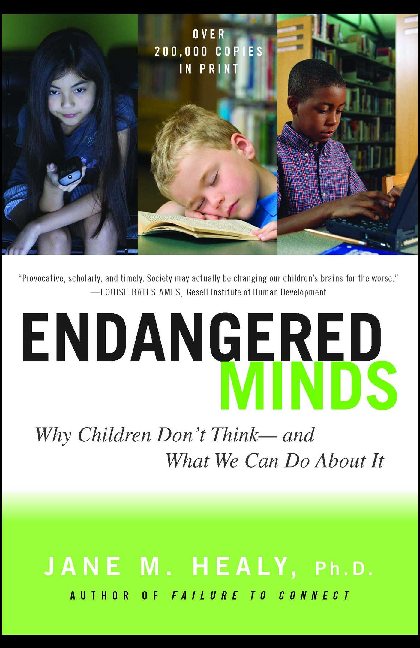 Endangered minds 9781439126707 hr