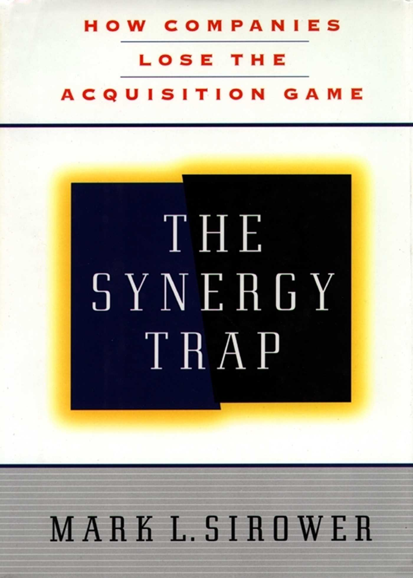 The synergy trap 9781439137703 hr