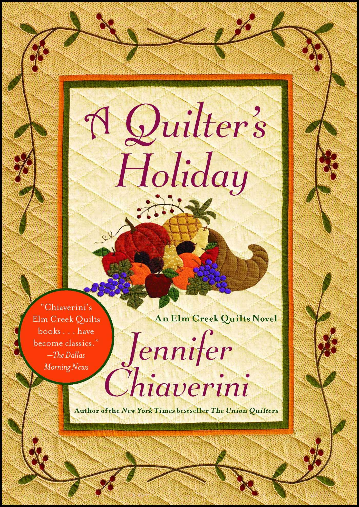 A quilters holiday 9781439143148 hr