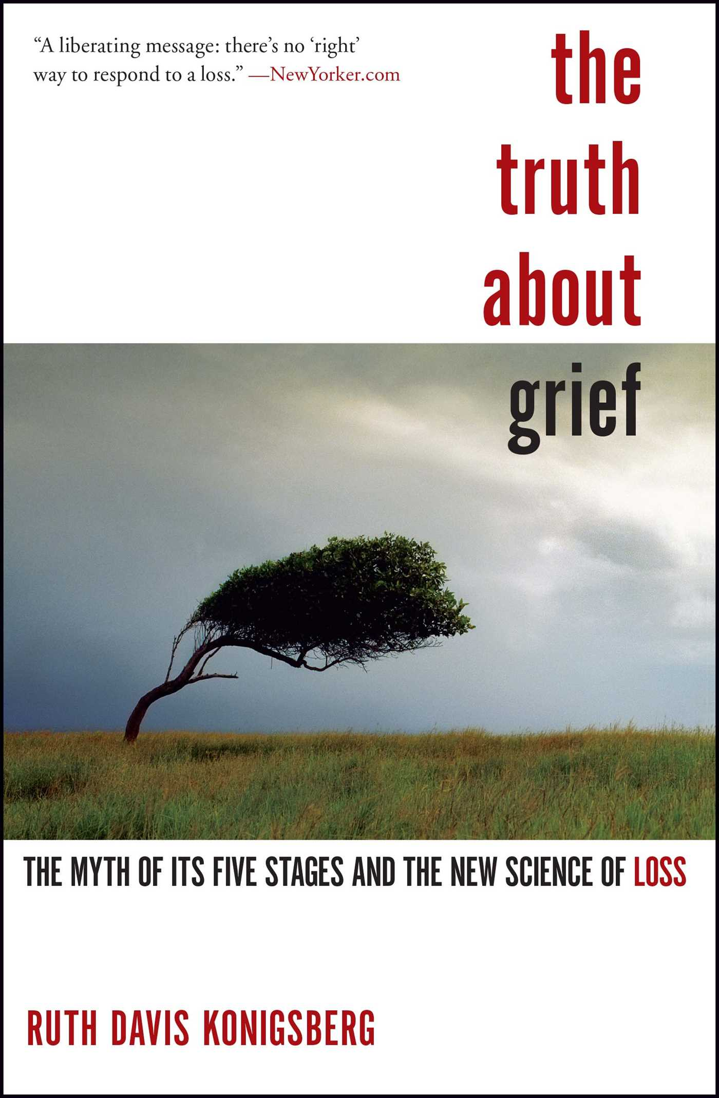 The truth about grief 9781439148341 hr