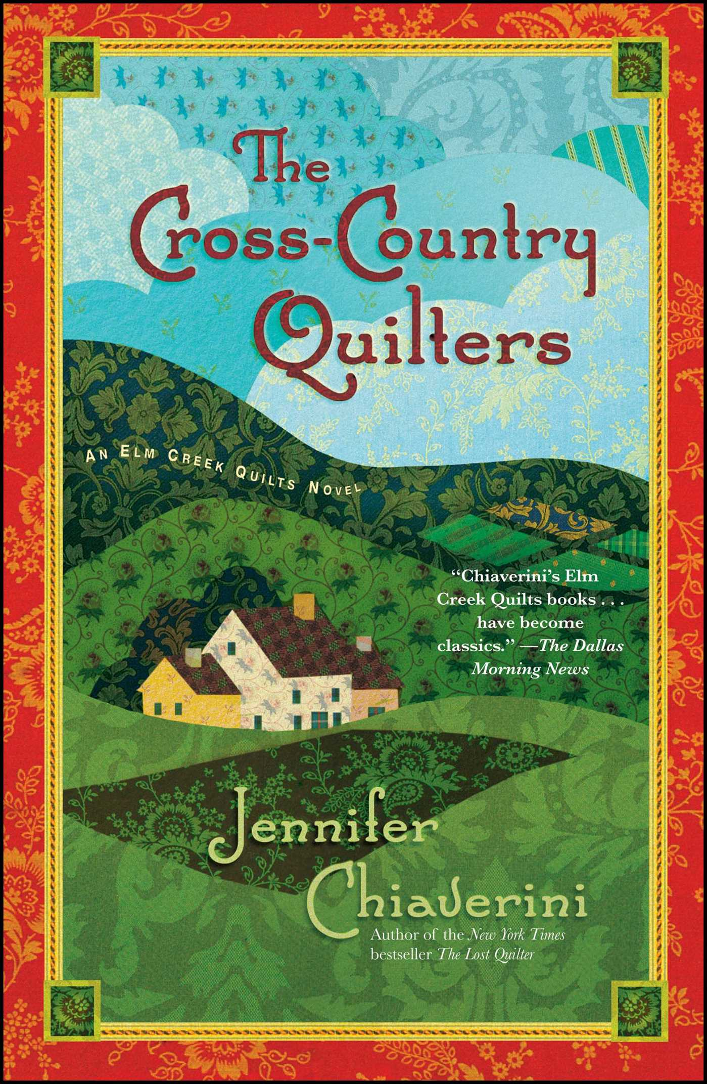 The cross country quilters 9781439148914 hr