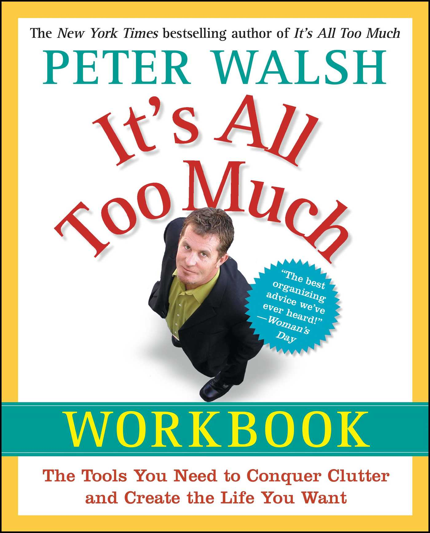 Its all too much workbook book by peter walsh official its all too much workbook 9781439149560 hr fandeluxe Document
