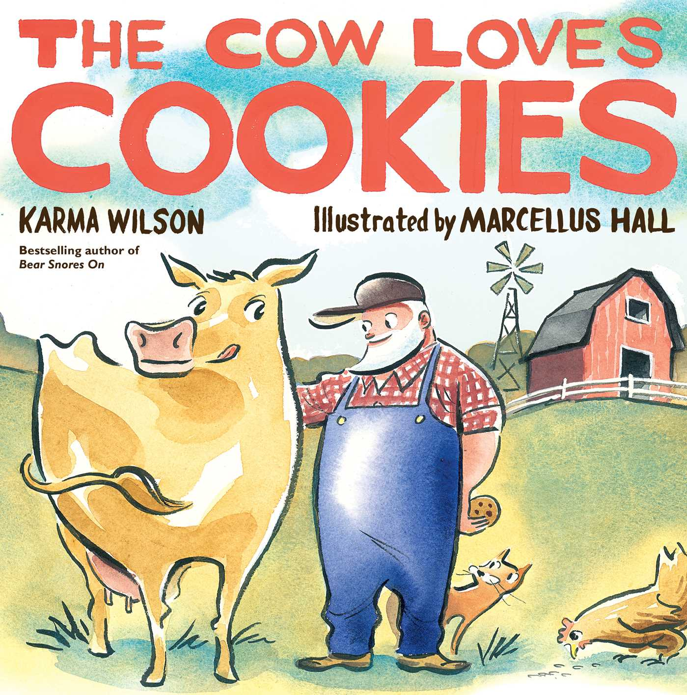 The cow loves cookies 9781439156162 hr