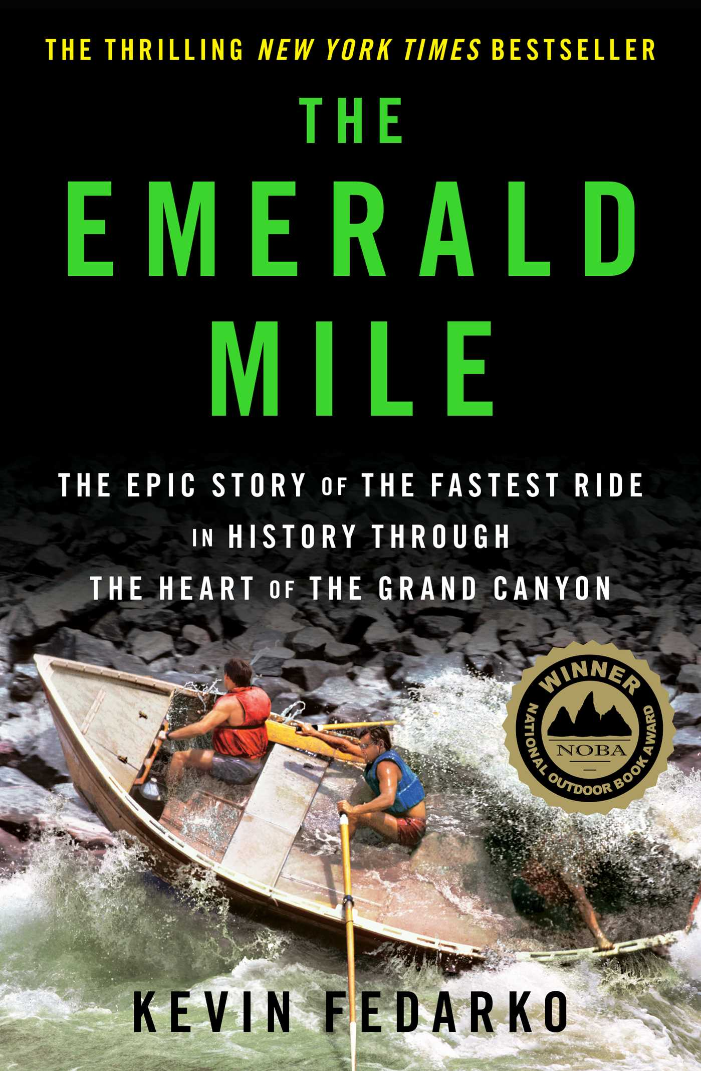 Emerald mile 9781439159859 hr