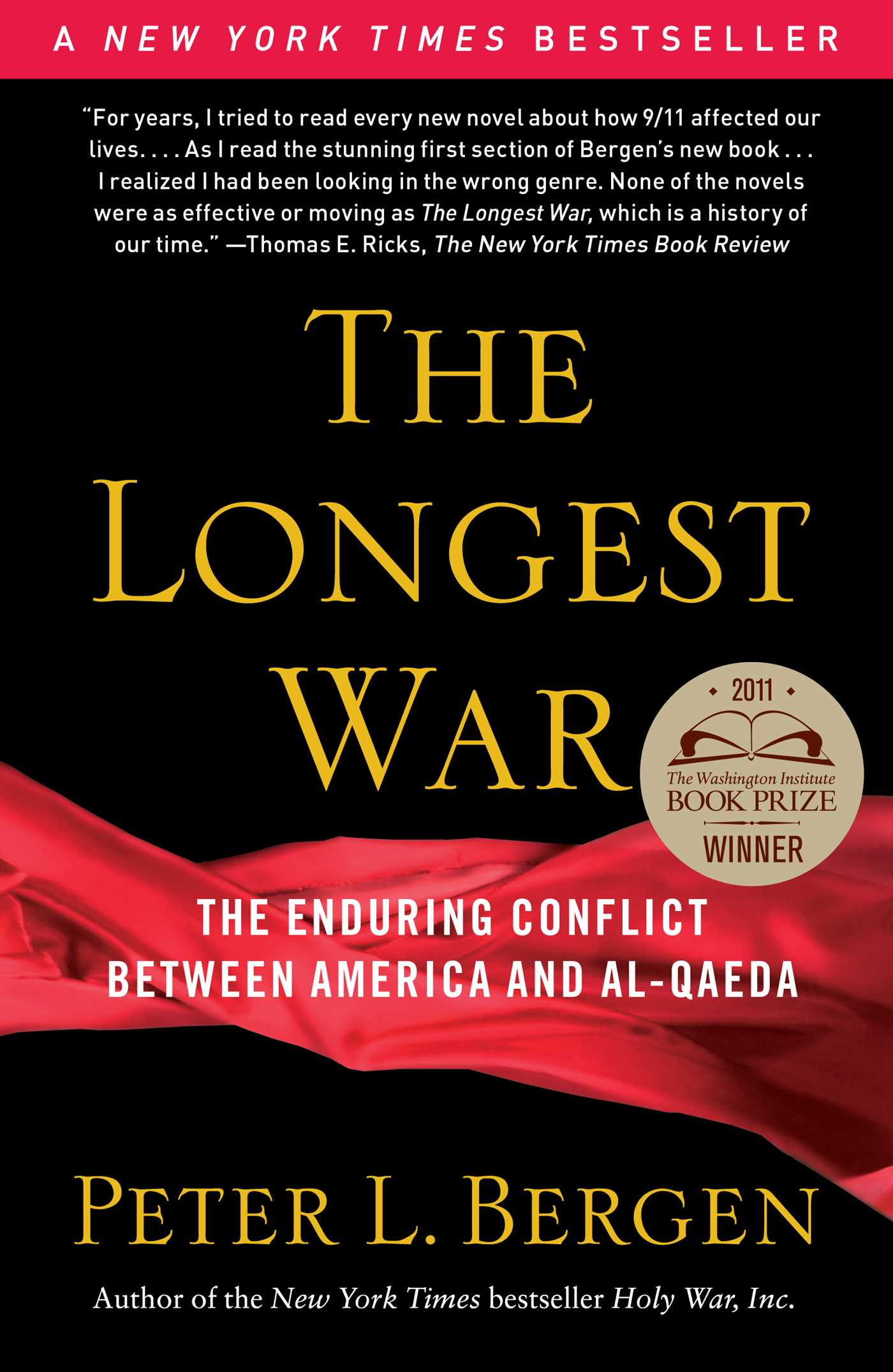 The longest war 9781439160596 hr