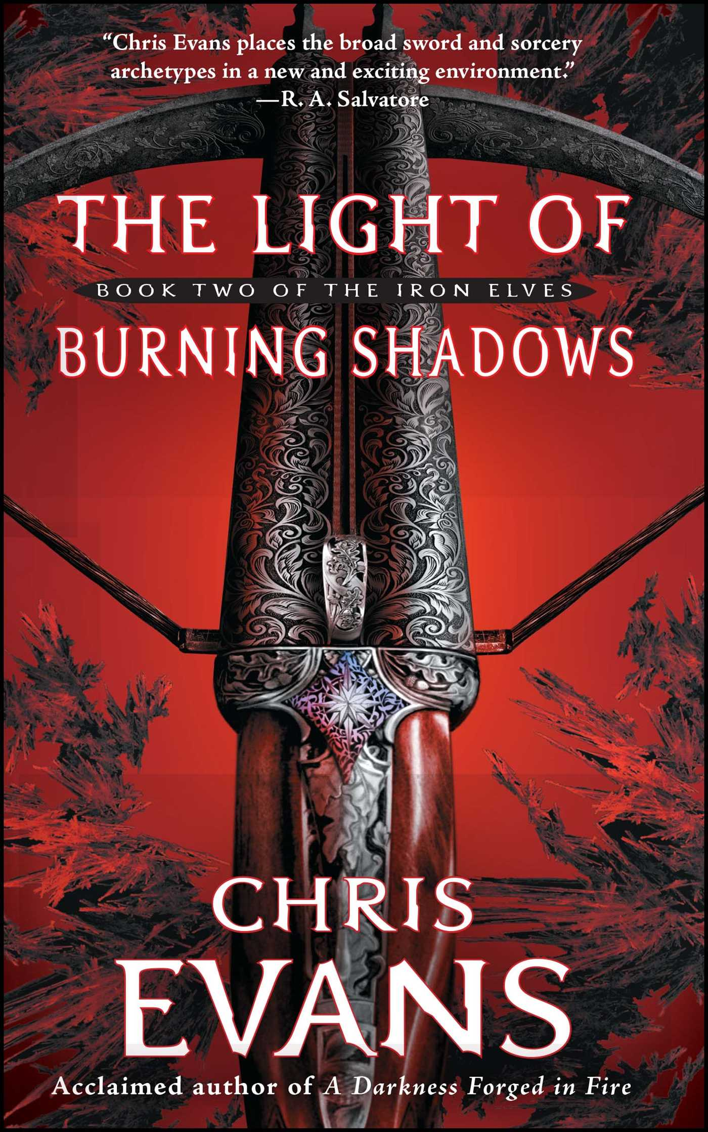 The light of burning shadows 9781439164587 hr