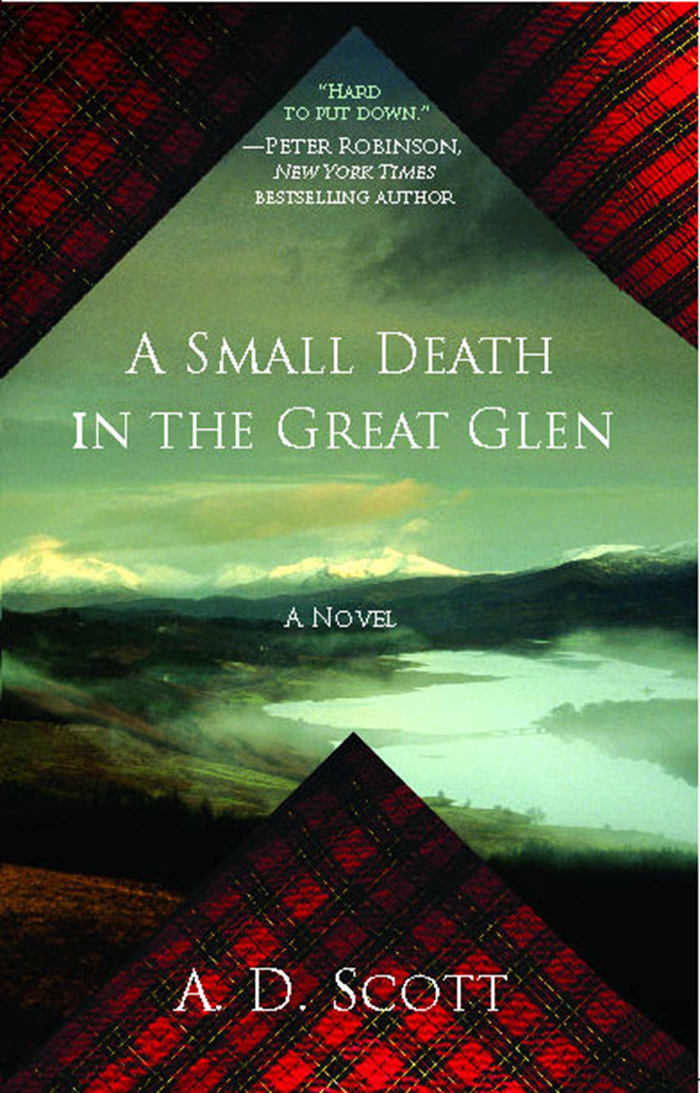 A small death in the great glen 9781439164839 hr