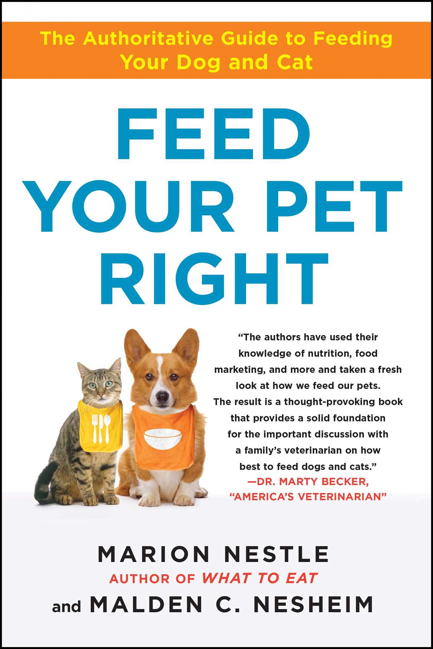 Feed your pet right 9781439166420 hr