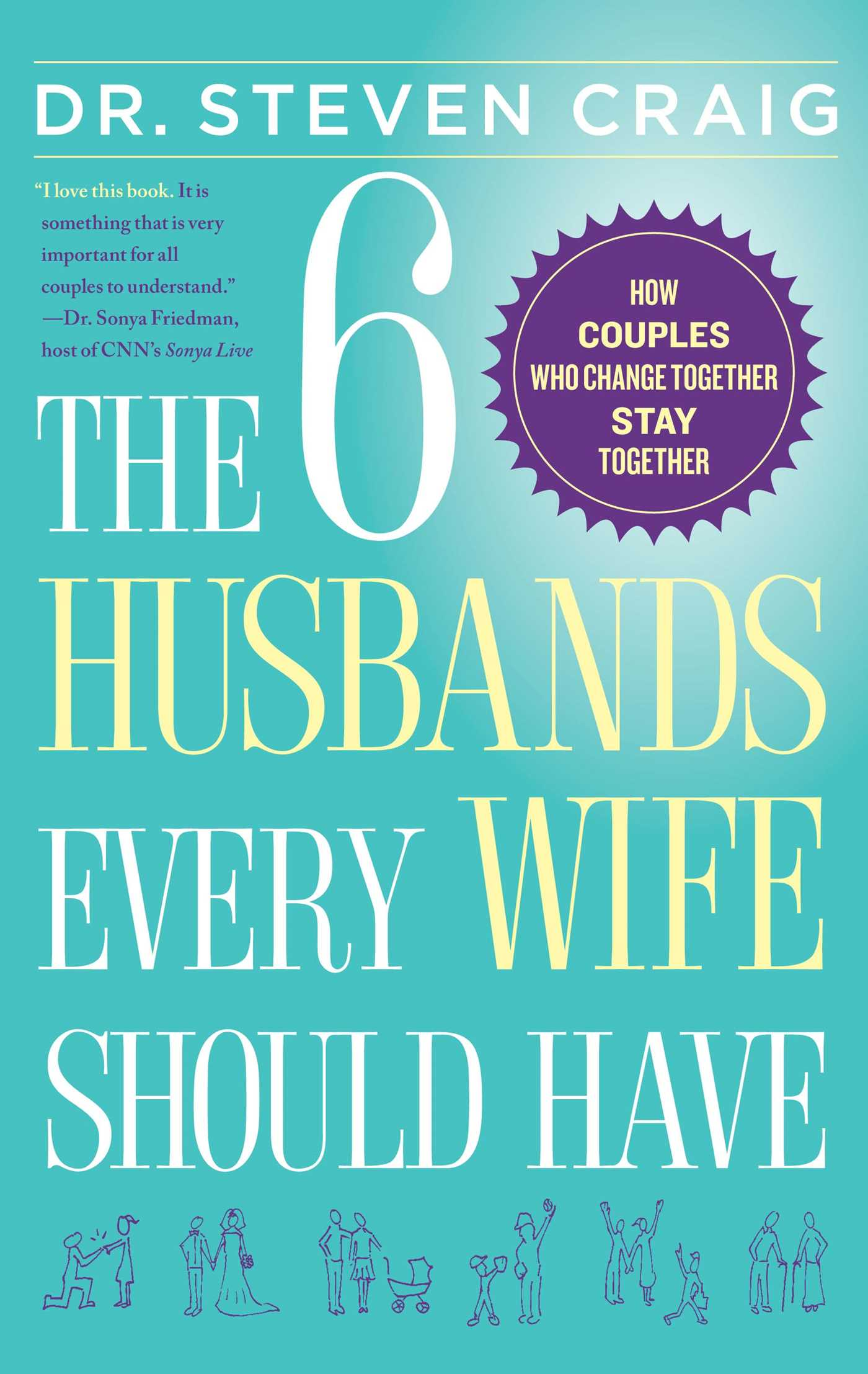 6 husbands every wife should have 9781439168028 hr
