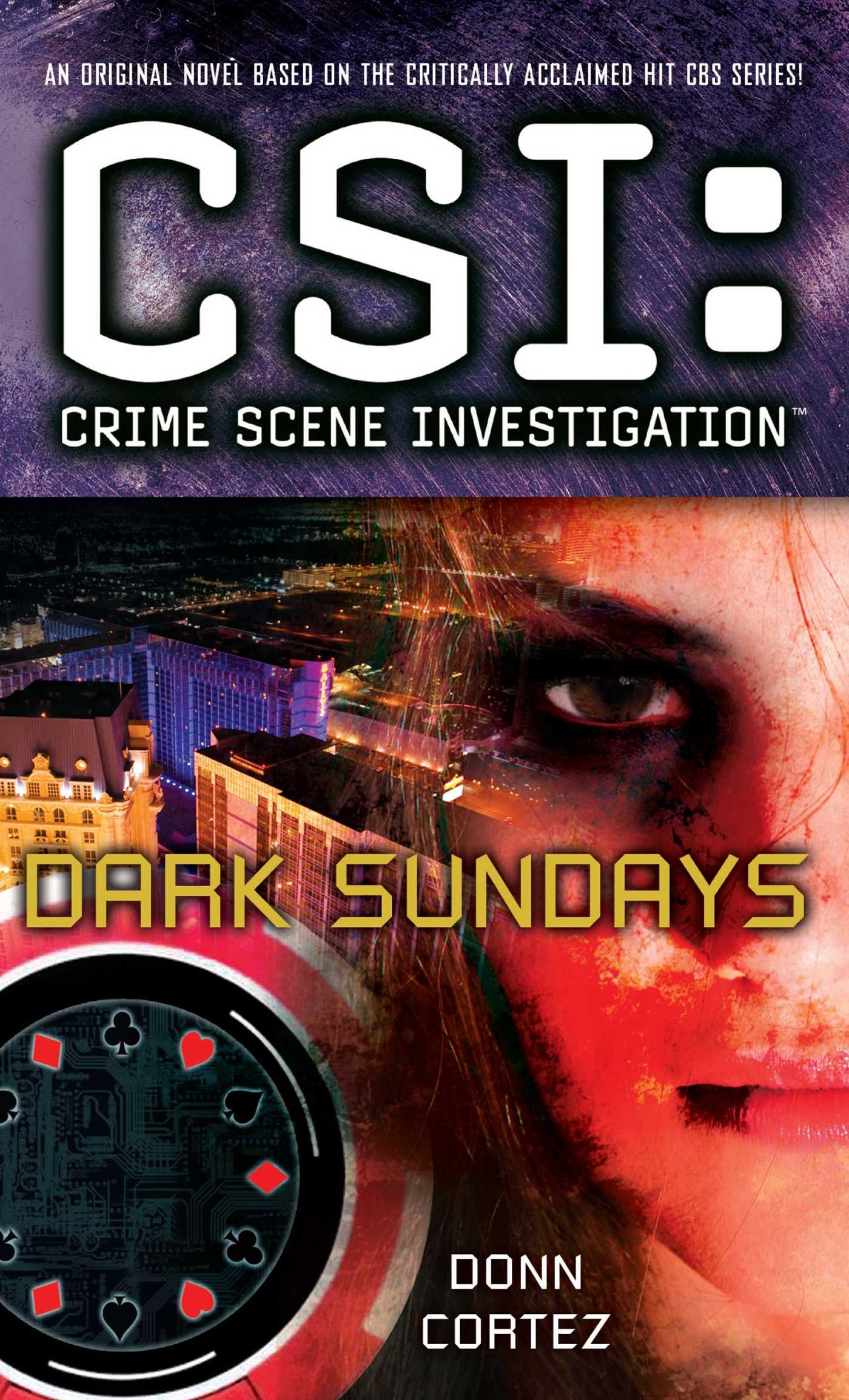 Csi crime scene investigation dark sundays 9781439169308 hr