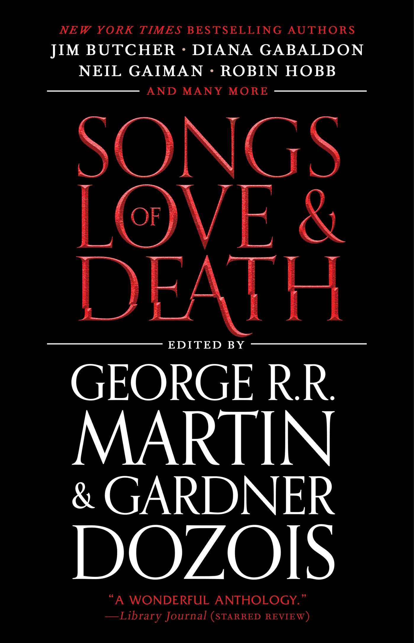 Songs of love and death 9781439170830 hr
