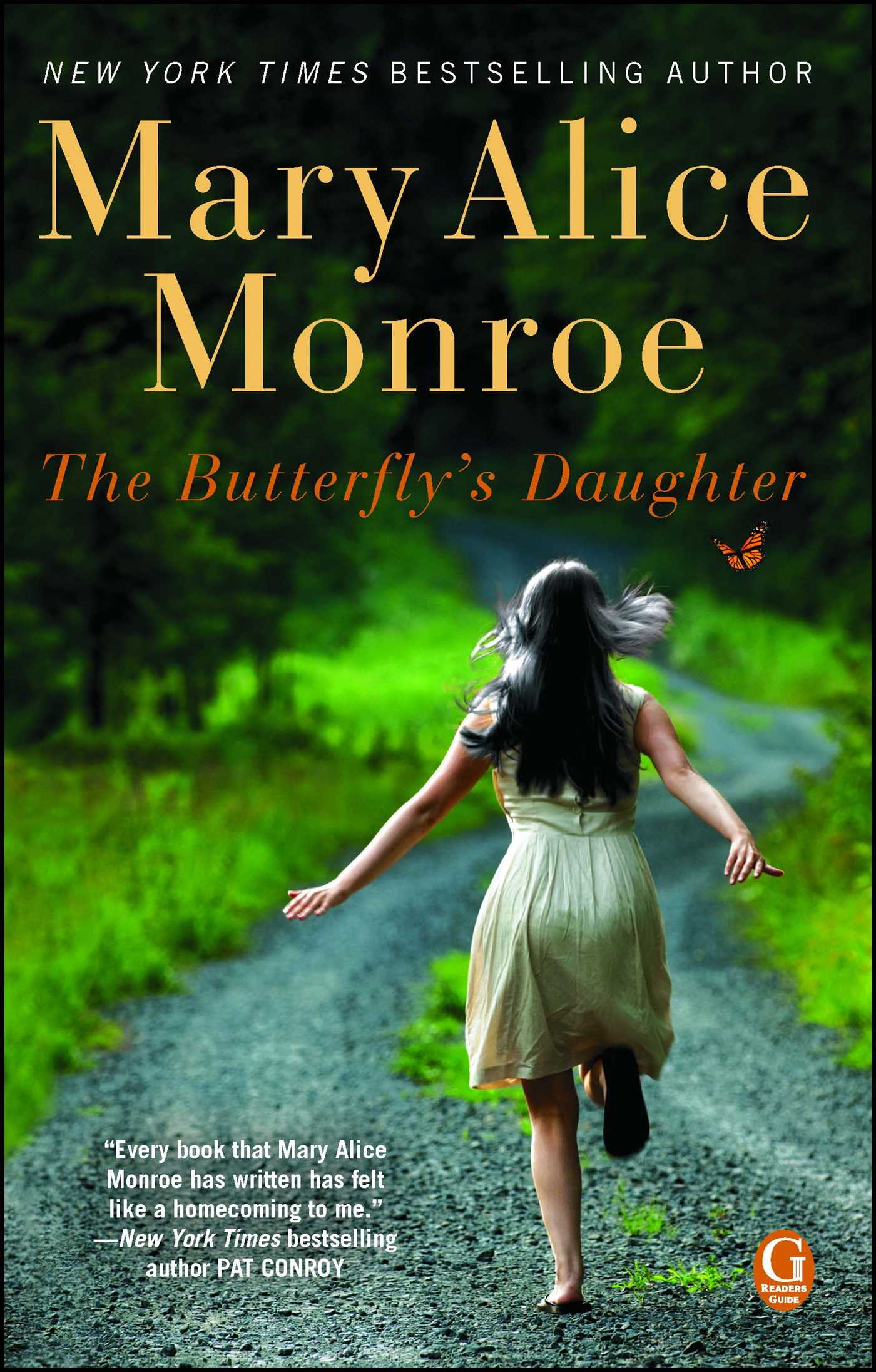 The butterflys daughter 9781439171028 hr