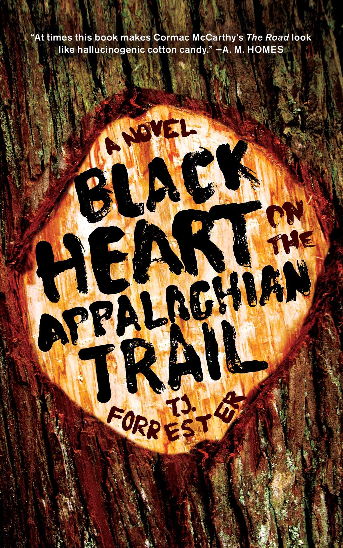 Black heart on the appalachian trail 9781439175613 hr