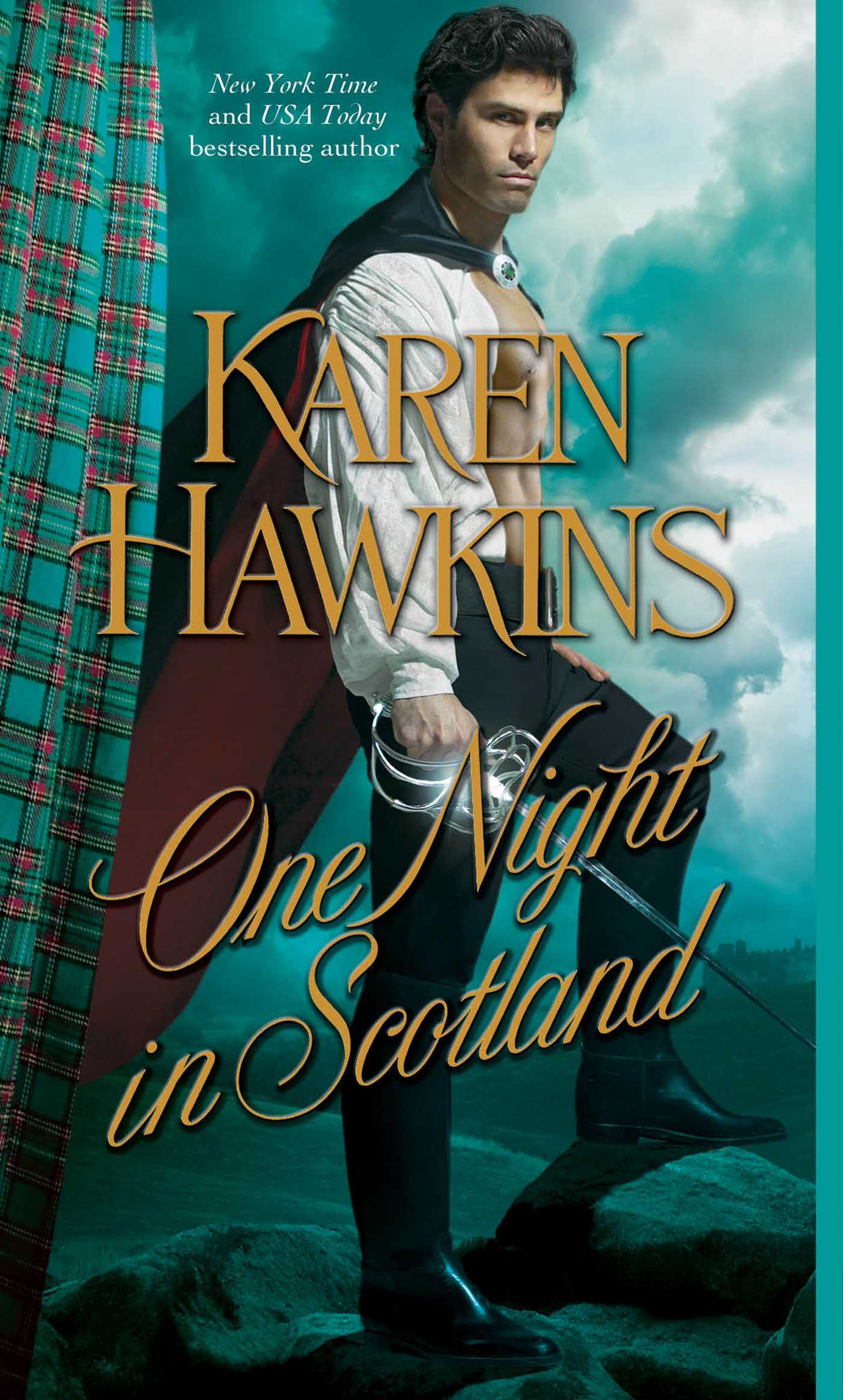 One night in scotland 9781439176009 hr