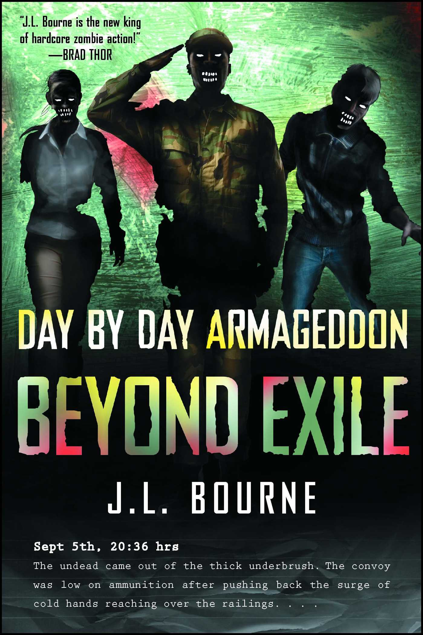 Beyond exile day by day armageddon 9781439177532 hr