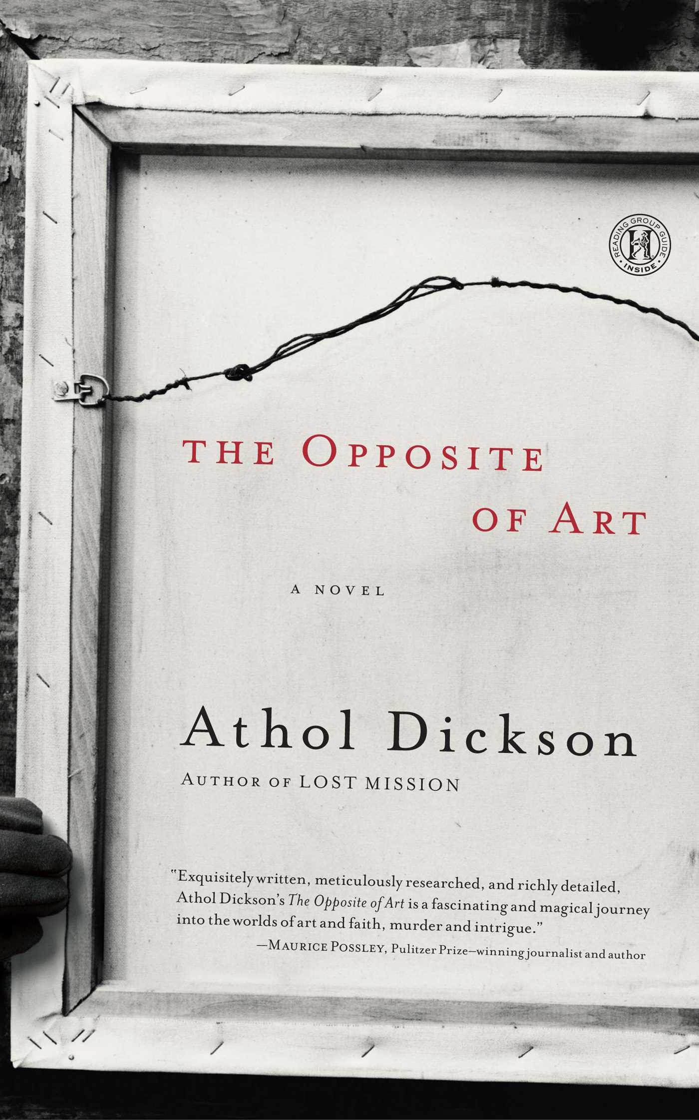 The opposite of art ebook by athol dickson official publisher page ebook 9781439177600 fandeluxe Choice Image