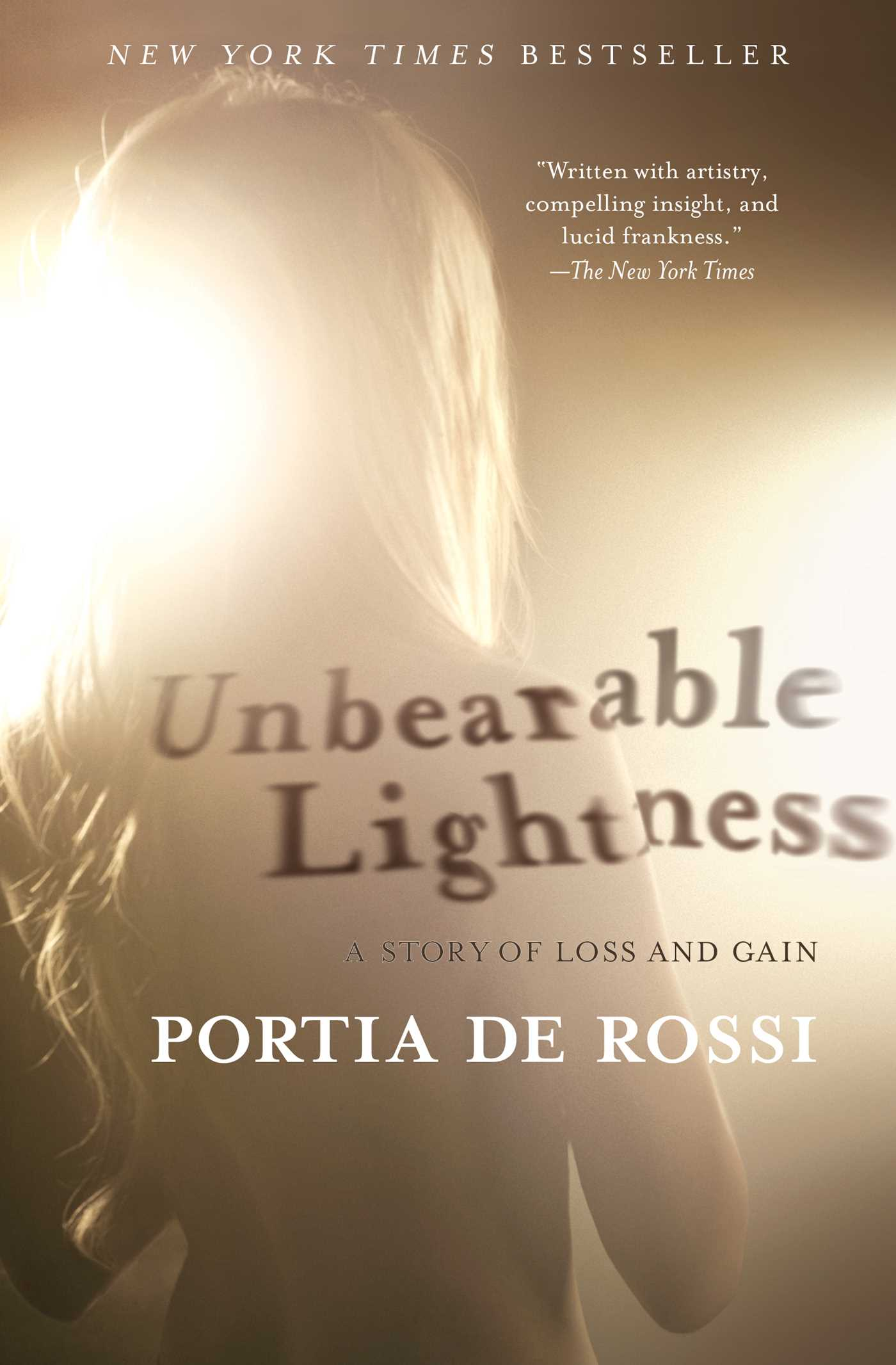 Unbearable lightness 9781439177792 hr