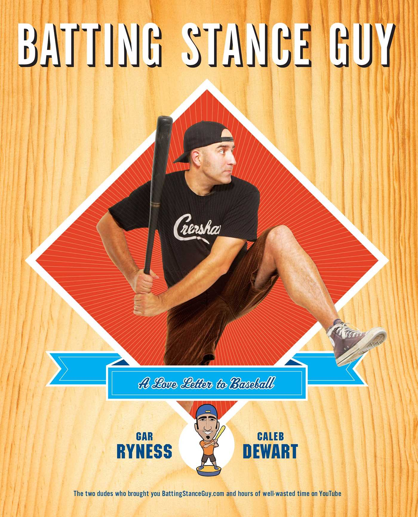 Batting stance guy 9781439181720 hr
