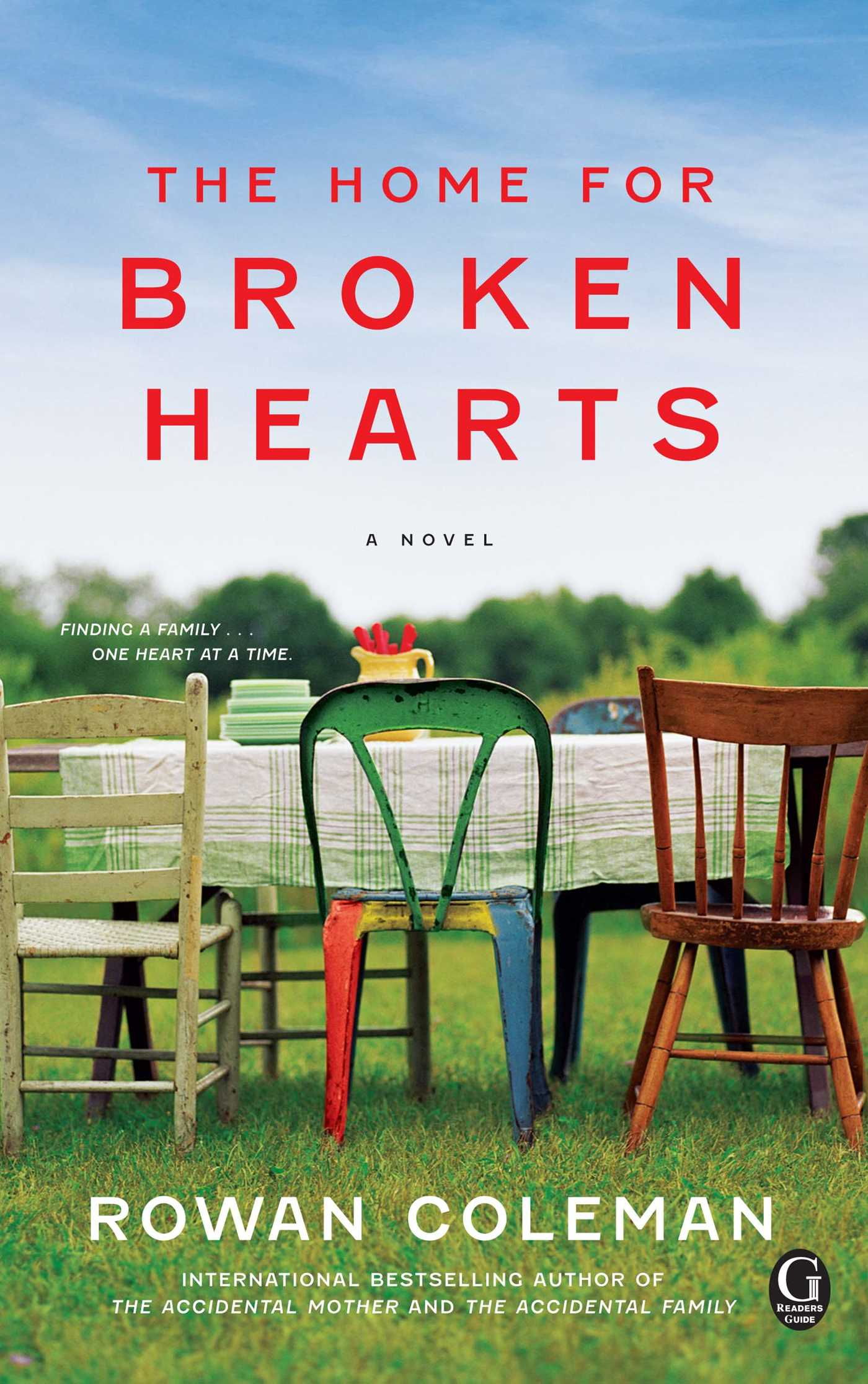 Home for broken hearts 9781439182505 hr