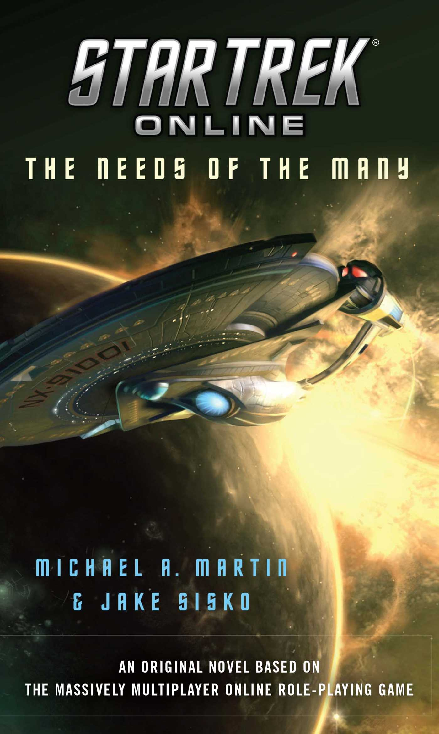 Star trek online the needs of the many 9781439186589 hr