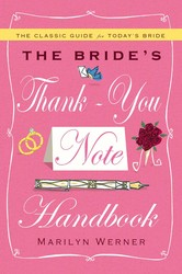 The brides thank you note handbook 9781439189269