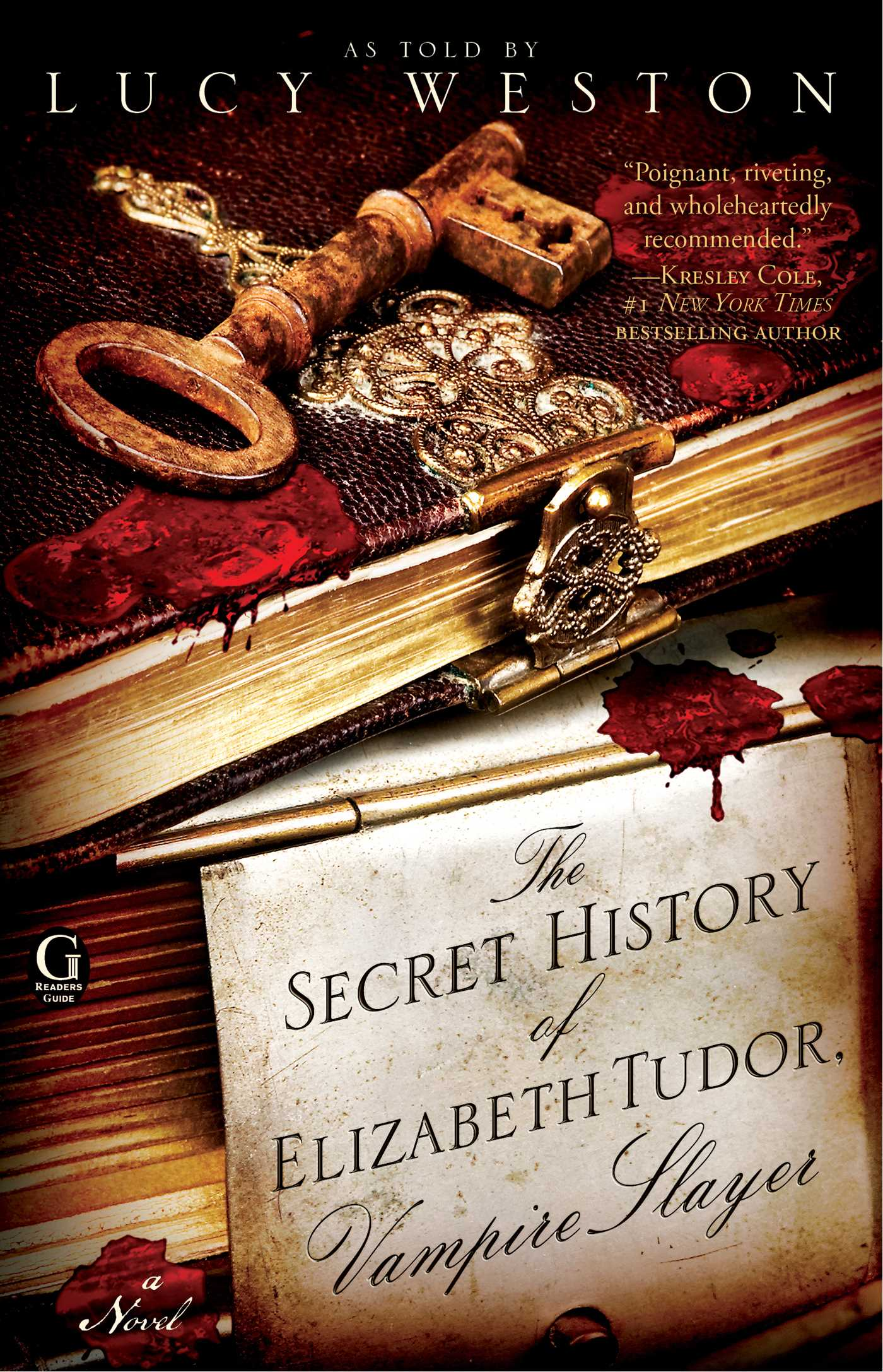 The secret history of elizabeth tudor vampire slayer 9781439190395 hr