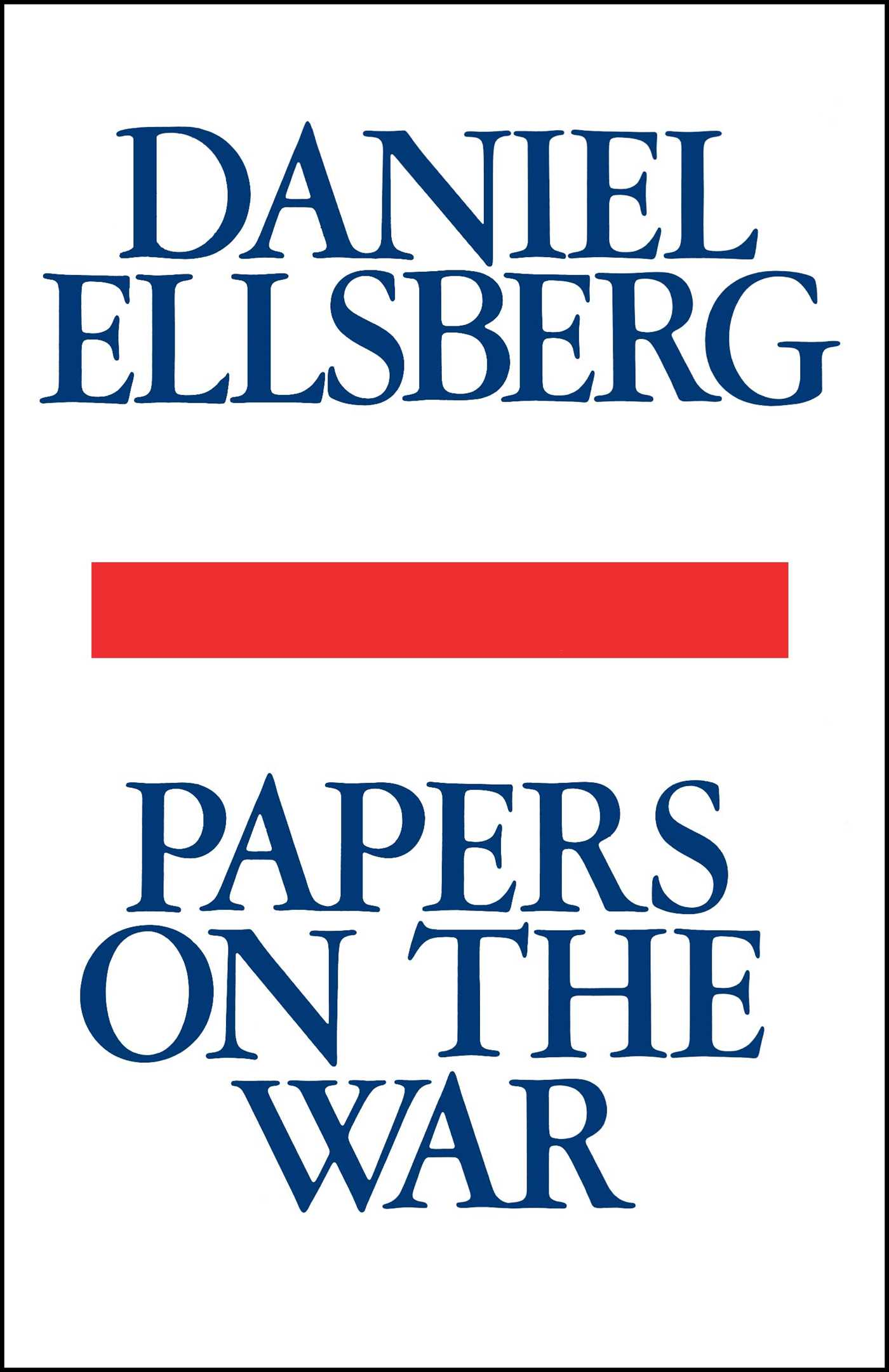 Papers on the war 9781439193761 hr
