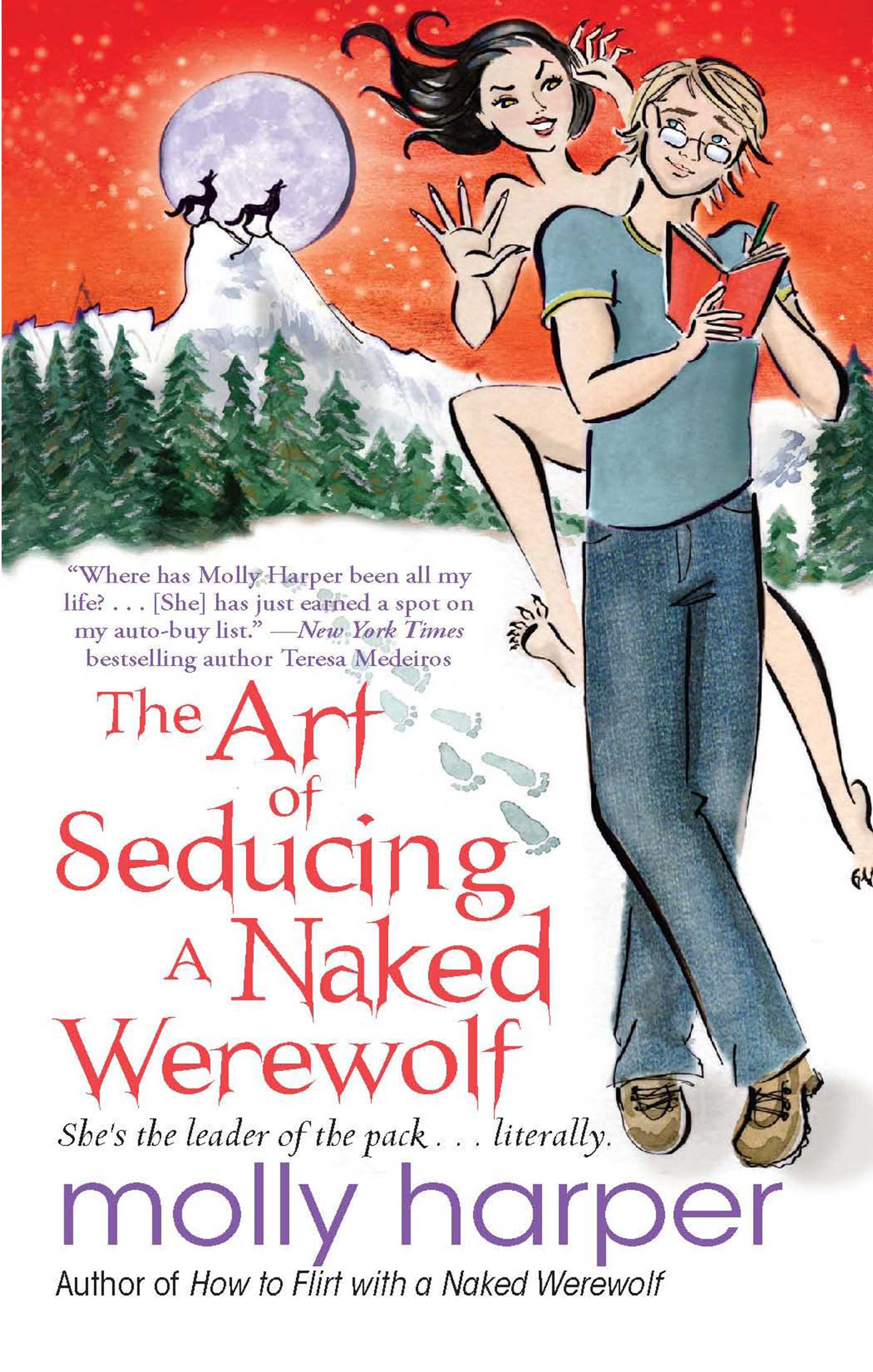 The art of seducing a naked werewolf 9781439195895 hr
