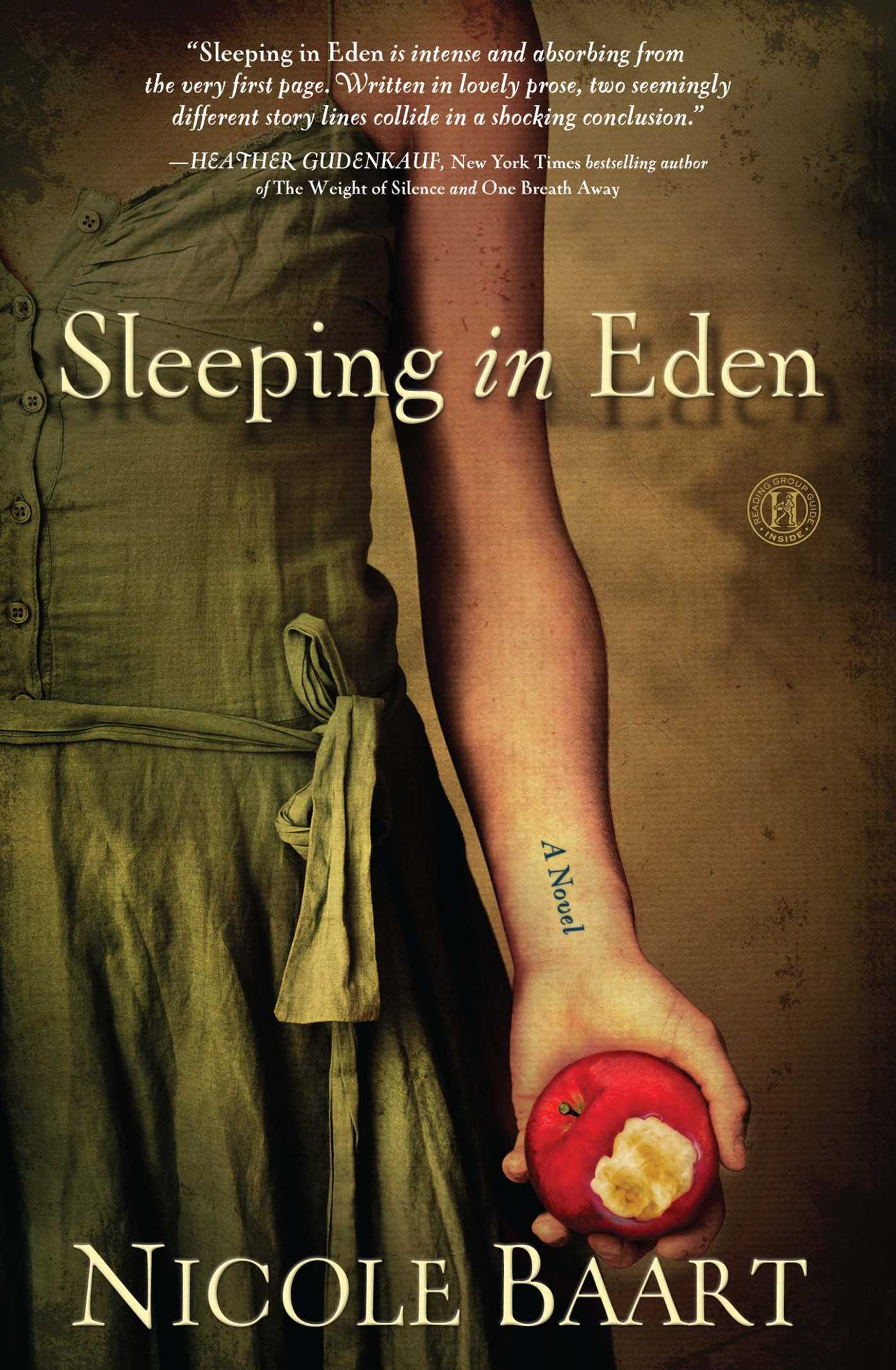 Sleeping in eden 9781439197370 hr