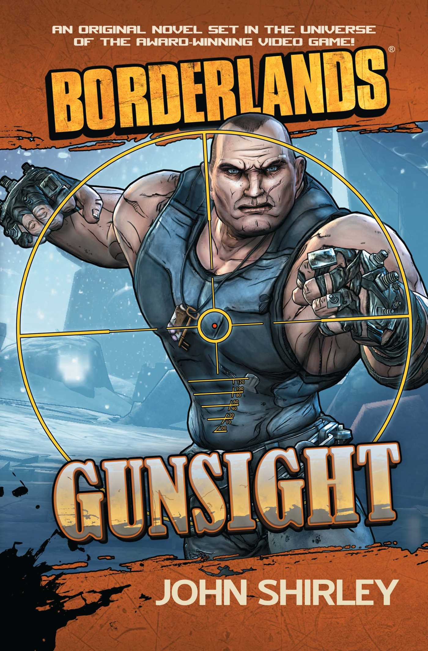 Borderlands gunsight 9781439198490 hr
