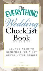 The Everything Wedding Checklist Book