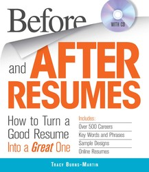 Before and After Resumes with CD