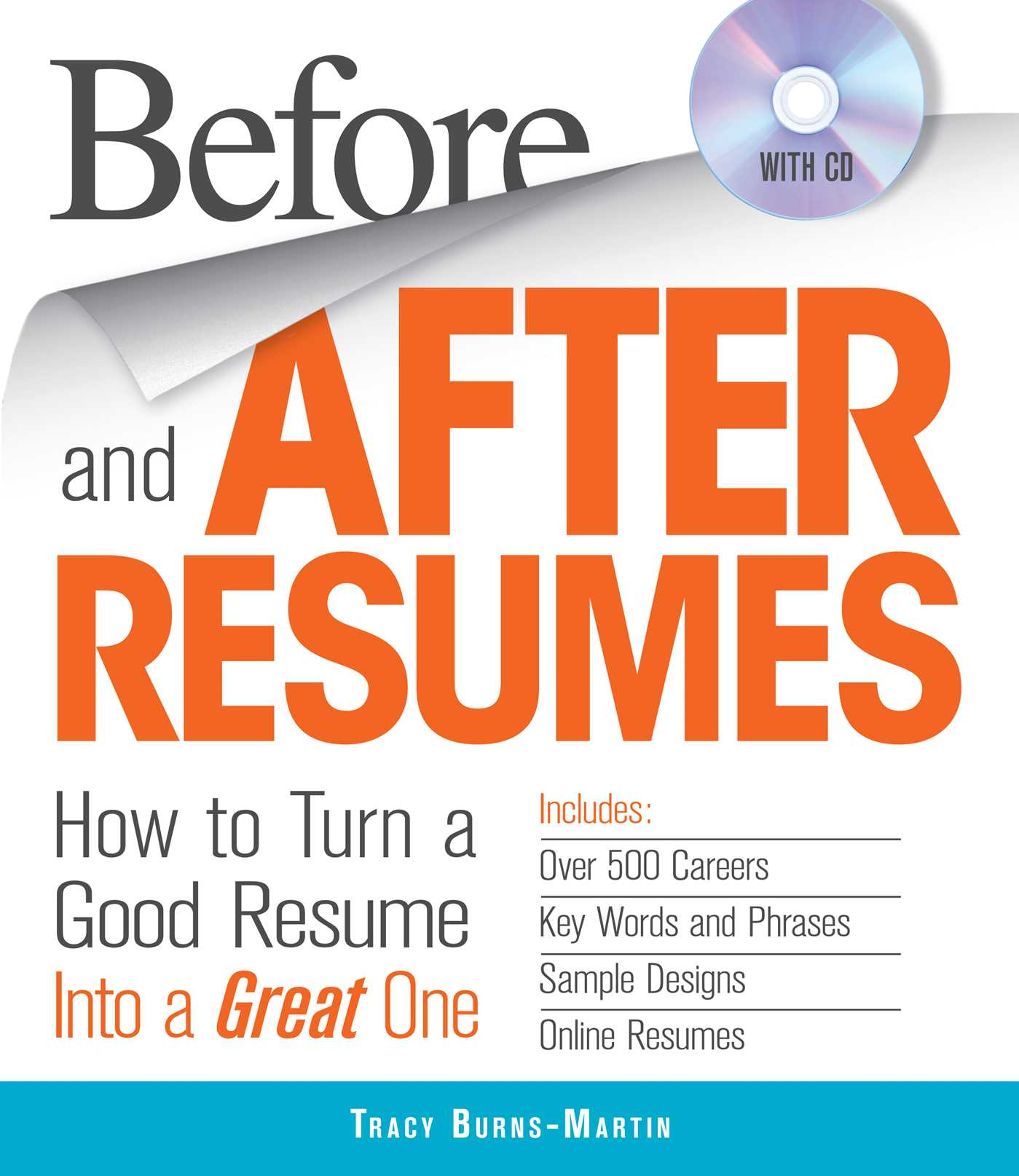 Before and After Resumes with CD | Book by Tracy Burns-Martin ...