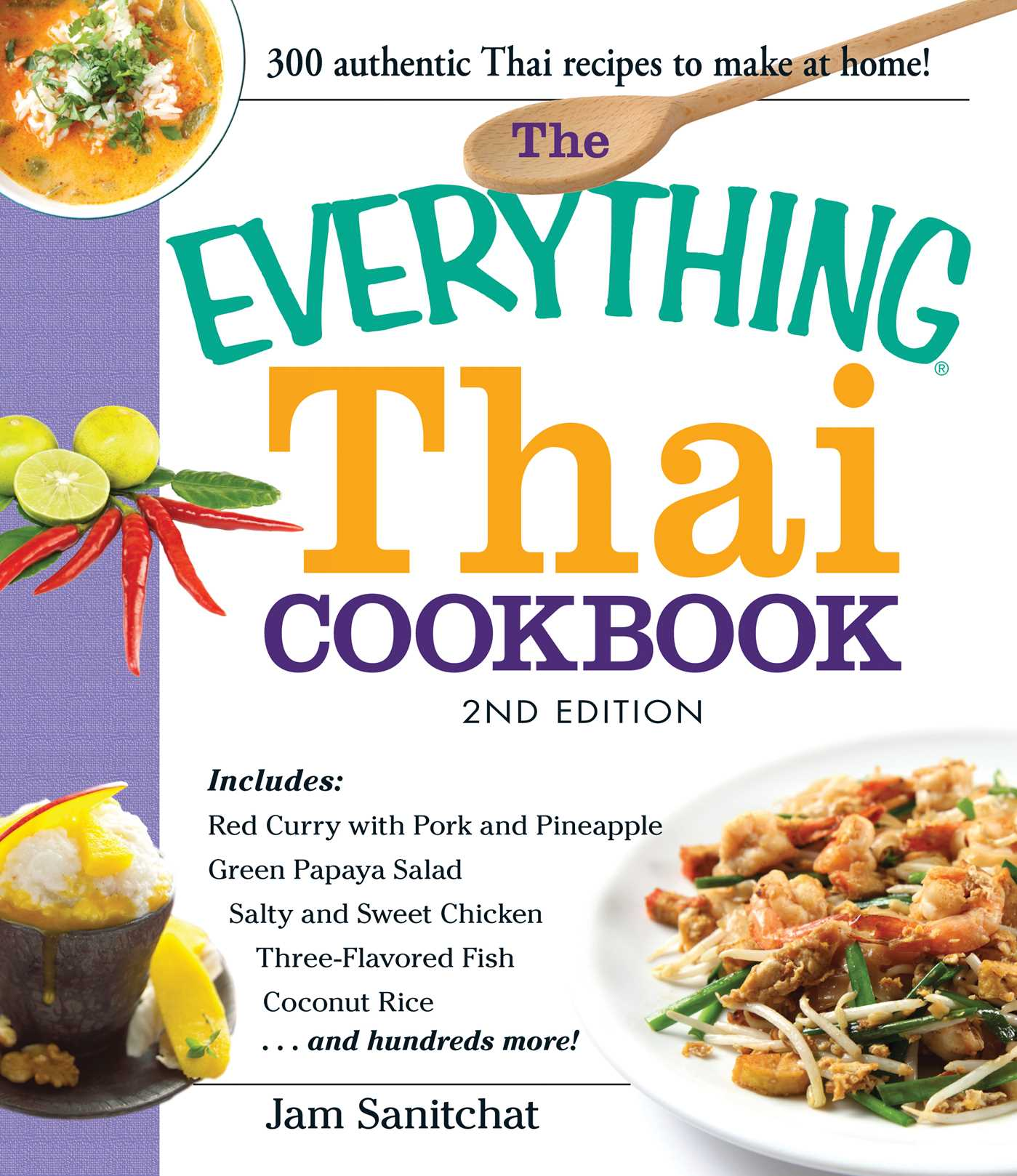 The everything thai cookbook ebook by jam sanitchat official book cover image jpg the everything thai cookbook forumfinder Choice Image