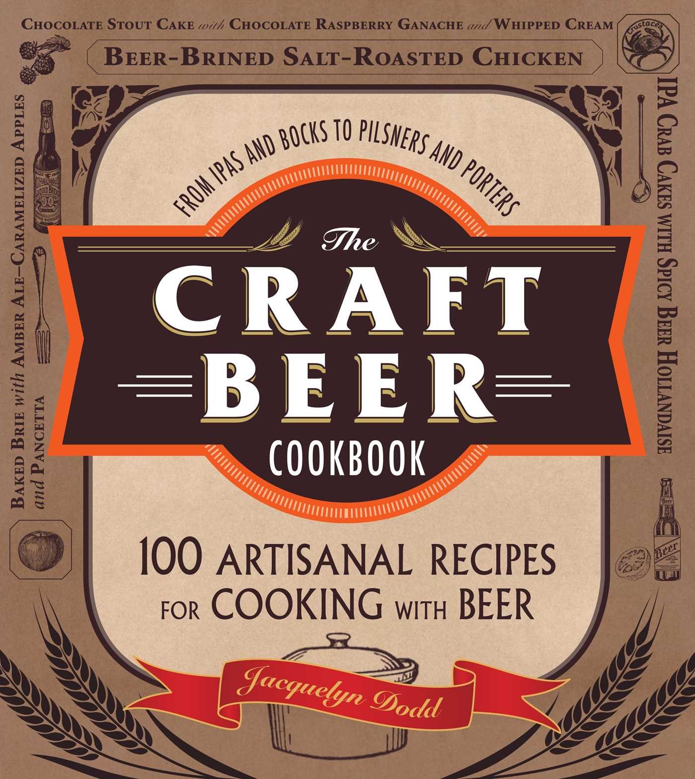 Book Cover Craft Beer : The craft beer cookbook book by jacquelyn dodd