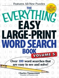 The Everything Easy Large-Print Word Search Book, Volume 5