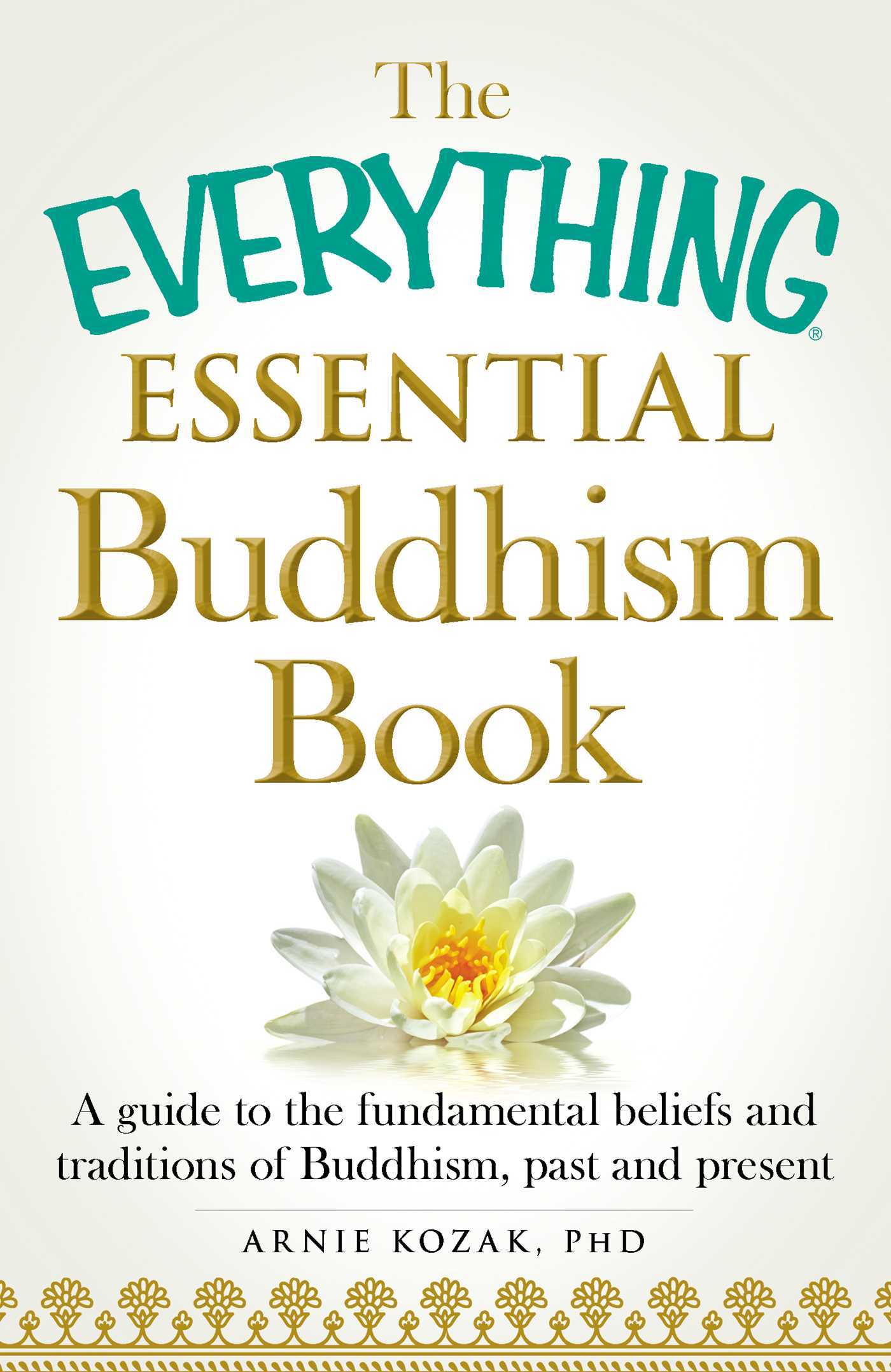 The everything essential buddhism book 9781440589829 hr