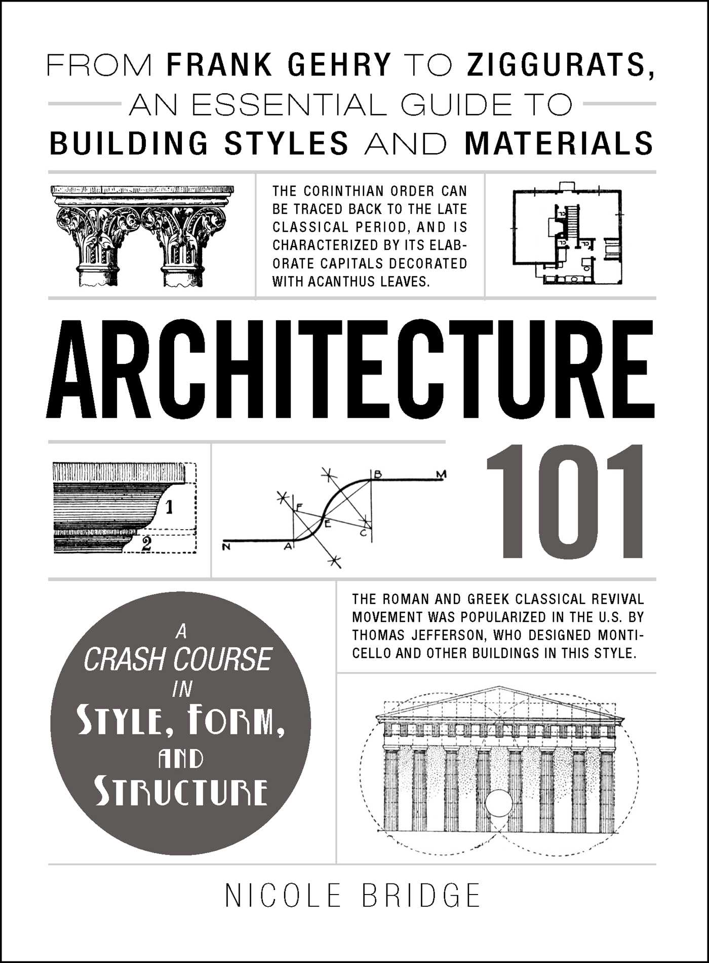 Architecture 101 book by nicole bridge official for Architecture 101