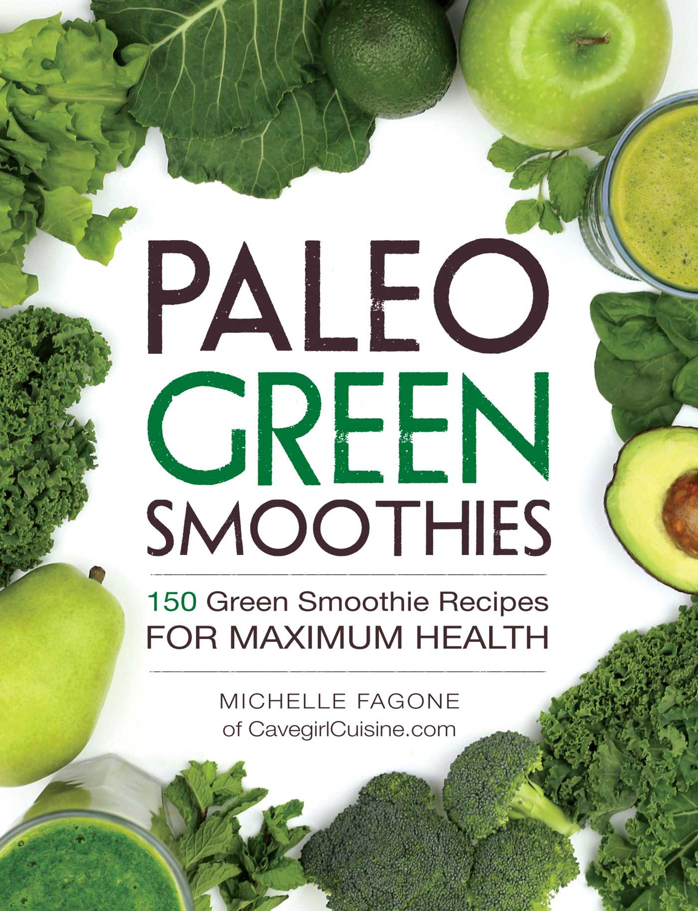 Paleo green smoothies 9781440592935 hr