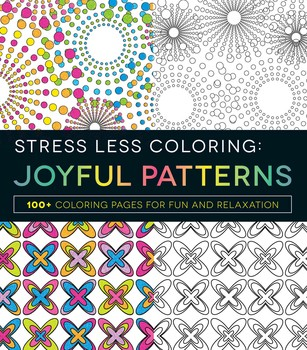 Stress Less Coloring Books By Adams Media And Jim Gogarty From