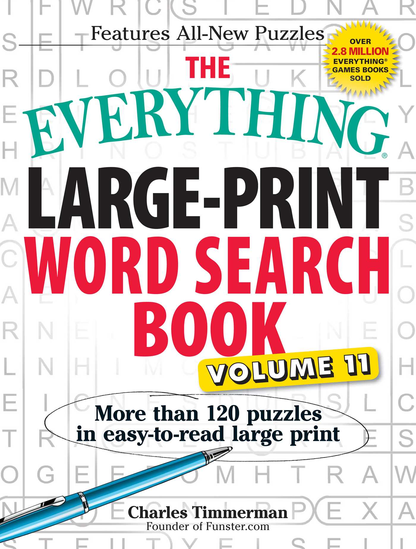 The everything large print word search book volume 11 9781440595950 hr