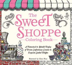 The Sweet Shoppe Coloring Book