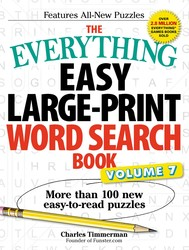 The Everything Easy Large-Print Word Search Book, Volume 7