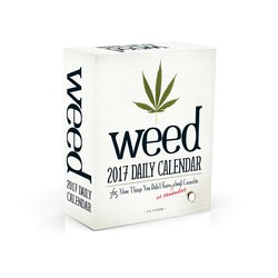 Weed 2017 Daily Calendar