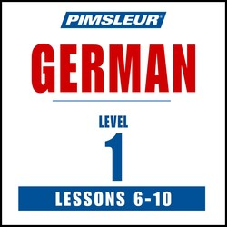 Pimsleur German Level 1 Lessons  6-10 MP3