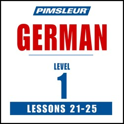Pimsleur German Level 1 Lessons 21-25 MP3